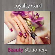 Loyalty Card Beauty Salon Manicure Spa Pedicure Nail Therapist Makeup A8 Mini