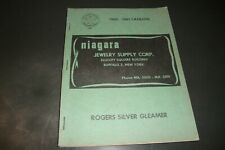 1960-1961 NIAGARA JEWELRY SUPPLY CATALOG RINGS WATCHES ETC WITH OVER 200 PAGES