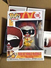 Funko Pop - Ad Icons 109 - McDonald's - Rock Out Ronald McDonald - Mint