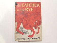 The Catcher In The Rye, by J.D. Salinger-1951-BOMC w/Fadiman Insert Vtg.H/C Book
