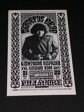 BG032 GRATEFUL DEAD Psychedelic FILLMORE Postcard handbill by WES WILSON
