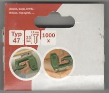 Tacker NÄGEL Typ 47 ,23 mm  -1000 Stück  für Bosch ,ESCO ,KWB
