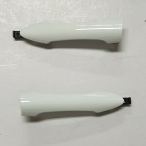 OEM Outside Door Handle Cover LH RH White UD 2p for 2011 2015 Kia Picanto