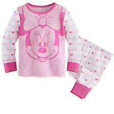 Minnie Mouse Long Sleeve Pajamas for Baby Girl Size 6-9 Months Disney