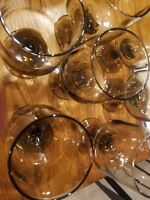 Vintage libby glasses a set of 7