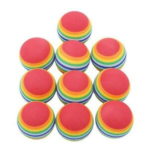 Colorful Pet Toy Rainbow Ball Popular Outdoor Super Q Activity Foam Exercise BB
