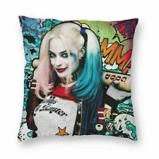 Suicide Squad Harley Quinn Comics Cushion Cover Fabric Sofa Throw Pillow Case