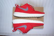 Og Nike 2012 Roshe 11 uk 10 Sport Red Cool Grey Sail 511881-601 rosherun