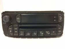 Chrysler Dodge Jeep P05091506AE OEM Car Stereo Radio With CD Player AS IS