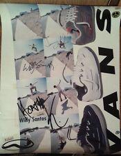 ~ signiert handsigniert Vans Schuhe Skateboarding Skateboard WILLY SANTOS SK8 Poster
