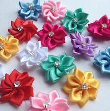 Flower Embellishments, Assorted with Gems, wedding decoration, crafts, sewing