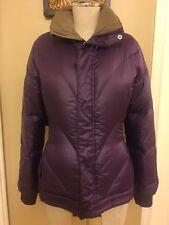 BURTON DryRide Blaze Down Insulator Winter Jacket Puffer Purple Womens Sz Small