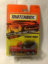 Matchbox Cement Truck #19 1:64 Scale Diecast mb1732