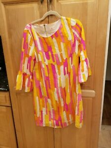 Julie Brown Silk Shift Dress NWT SZ 6