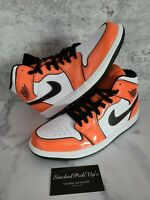 Nike Air Jordan 1 Mid SE Turf Orange Black White DD6834-802