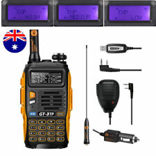 DHL! Baofeng GT-3TP MarkIII Dual Band VHF/UHF 1/4/8W Ham Radio + Cable+ Speaker