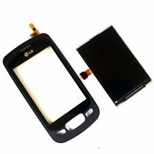100% ORIGINALE LG P500 OPTIMUS ONE Display LCD + Digitizer Touch Screen Lens + 1 Frontale