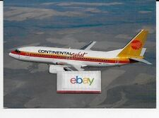 CONTINENTAL WEST AIRLINES BOEING 737 -300 #N17306 POSTCARD