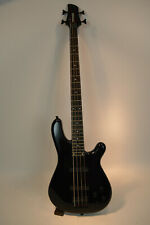 Fernandes Gravity 4 String DLX Deluxe Black Bass Guitar New Old Stock