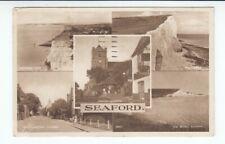 Postcard. Seaford. Multi View. 1958