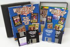 PC-World Cup Year 94-soocer Goal Striker Manager + Guide + neuf dans sa boîte-Big Box