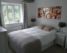Ikea Brusali King Bed Frame, Underbed Drawers And Two Bedside Cabinets