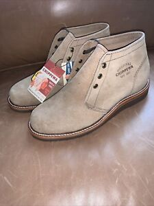 New Chippewa Milford 1901G06 Chukka Boot Khaki Suede US sizes 7, 7.5, 8, 8.5
