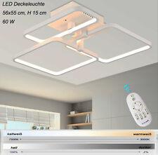 Plafonnier LED xw007-3 avec télécommande coloris blanc fluo/