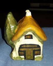 Vintage Hecha a Mano Novedad Cottage Vela. hecho a mano en Inglaterra