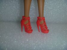 Barbie Shoes -  Extreme Or Stiletto High Heel Red Fashionista Shoes