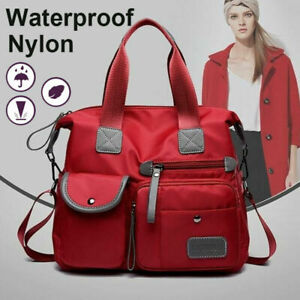 Women Waterproof Travel Cross Shoulder Large Capacity Multi Pocket Handbag