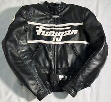 FURYGAN Women's Motorcycle Motorbike Biker Leather Jacket Size Small / Uk 8