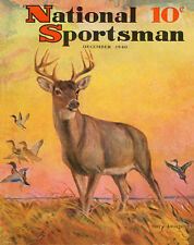 Whitetail Deer Hunting Magazine Poster Art Print Antlers Sheds Bow Arrow MAG26