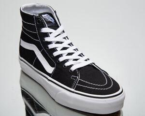 Vans Sk8 Hi Tapered Unisex Men's Women's Black Skate Lifestyle Sneakers Shoes