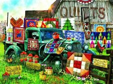 Jigsaw Puzzle 1000 Piece Quilts Barn Truck by SunsOut Quilts For Sale New Unused
