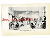 Making a Club Member, London 18thC, Book Illustration (Print), 1934