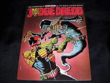 LOT OF 4  TITAN JUDGE DREDD CHRONICLES  BY BOLLAND CURSED EARTH VOL. 1 & 2 NM