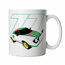 Stratos HF Classic Rally Car Mug - Gift for Him Dad, Fathers Day Birthday