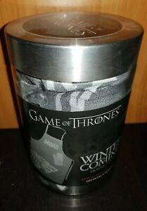 Set gant et Tablier de cuisine Game of Thrones winter is coming neuf