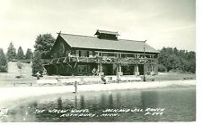 ROTHBURY,MICHIGAN-THE WAGON WHEEL-JACK & JILL RANCH--1950--RPPC-(RP#1-1351)