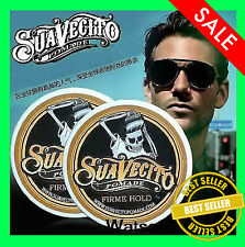 2Pcs Of Suavecito Pomade Firme/ Strong Hold Pomade 4 Oz Hair Wax For Man
