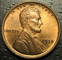 1918 P Lincoln Cent Wheat Penny  --  MAKE US AN OFFER!  #R4673