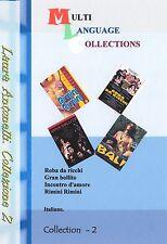 Laura Antonelli. Collezione 2 di 4 film. NO Subtitles 4 movies collection 2.