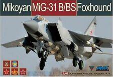 NEW AMK (88008): Mikoyan MiG-31B/BS Foxhound au 1/48