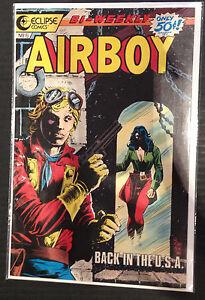 Airboy #6 VF 1st Print Eclipse Comics