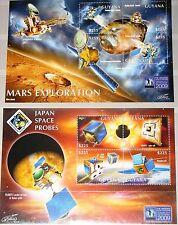 Guyana 2011 Space ann. espacio satellites Mars Exploration Universe 2009 mnh