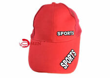 Men Women Unisex Red Sports Hunting Caps Baseball Golf Cap Cadet Military Hat