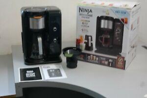 Ninja CP301 Hot & Cold Brewed System Coffee/Tea Maker Auto IQ & Milk Froth US25D