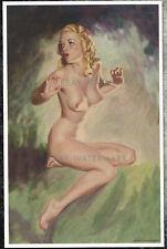 "1950's Earl Moran Pin-Up Poster Art Print ""Marilyn Monroe"" 11x17"