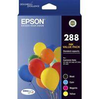 Genuine Epson 288 Inkjet Value Pack Ink Cartridge C13T305692 XP240 XP340 XP440
